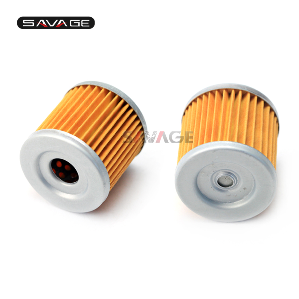 Engine Oil Filter Cleaner For KAWASAKI KLX 110/<font><b>125</b></font>/250/250R/300R KLX250 KLX125 <font><b>KX</b></font> 450F/450R Motorcycle Accessories <font><b>Parts</b></font> 2 pcs image
