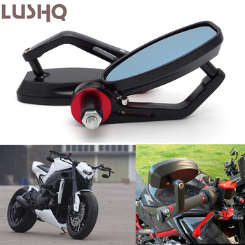 Motorcycle Bar End Mirror Moto Rearview Mirrors For BMW f650 gs e 60 r1200gs 2004 gs 800 r1100s r850r 310gs k1600gtl r1100rt image