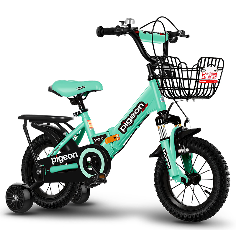 Children's bicycle folding bicycle 2 to 6 years old boy girl baby carriage baby child bike