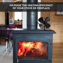 Fireplace Air-Heater Power Environmental Mini High-Efficiency Silent