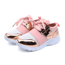 Kids Sneakers Fashion New Lightweight Breathable Sequins Childrens Casual Fitness Running Shoes tmallf 30