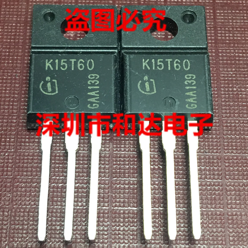 10 шт. IKA15N60T K15T60 TO-220F