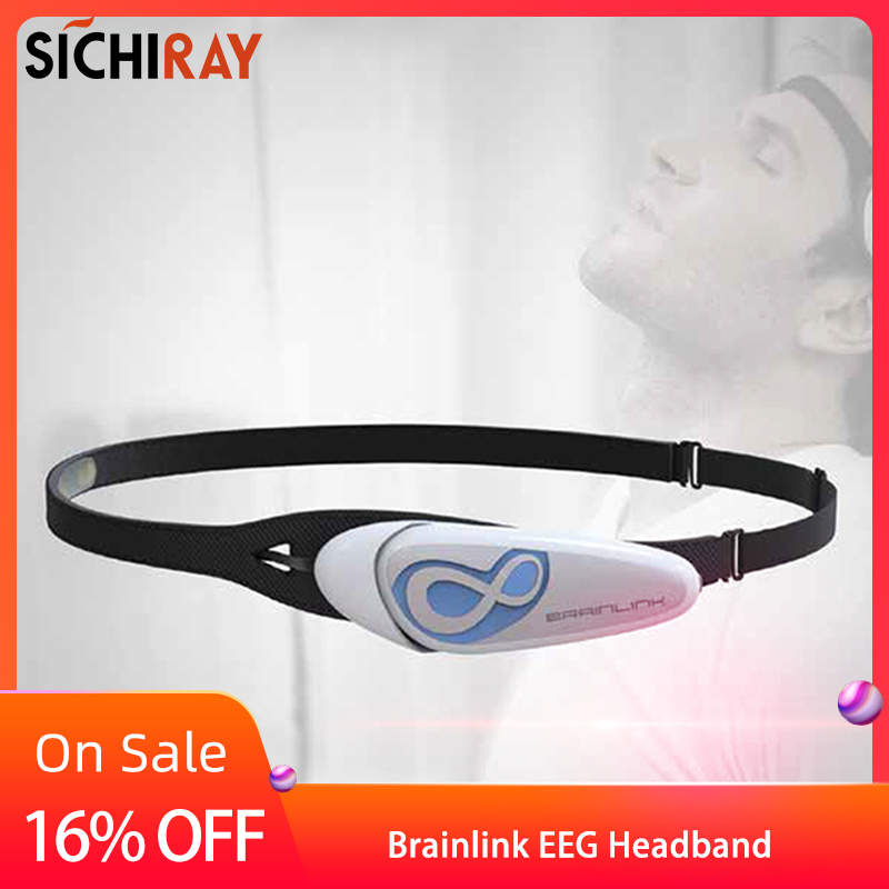 Hot Sale Brainlink Headset International Version Dry Electrode EEG Headband Attention And Meditation Controller Neuro Feedback