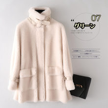 Coat Female Wool Jacket Warm Tops Autumn Winter Coat Women Clothes 2020 Korean Vintage Sheep Shearling Manteau Femme ZT4674(China)