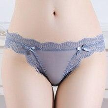 6PC Women Panties Transparent Brief Female Mesh Panty Young Girls Underwear Designer Bragas Cute Fashion Intimates 5016P6