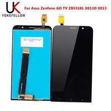 100% Tested LCD Display For Asus Zenfone GO TV ZB551KL X013D X013 LCD Display Screen Touch Digitizer Panel Assembly(China)