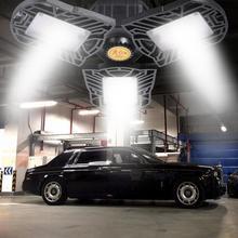 Светодиодный светильник для гаража лампа НЛО; не деформируется и не промышленный подвесной светильник E27/E26 высокого залива СИД светильник 60/80W мастерской парковки складская лампа 85-265v