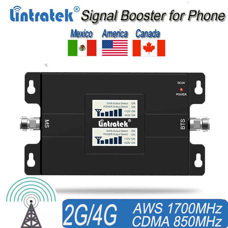 Home Use 2G 4G Signal Repeater 850MHz 1700/2100MHz UMTS Signal Booster For United States And Canada #30