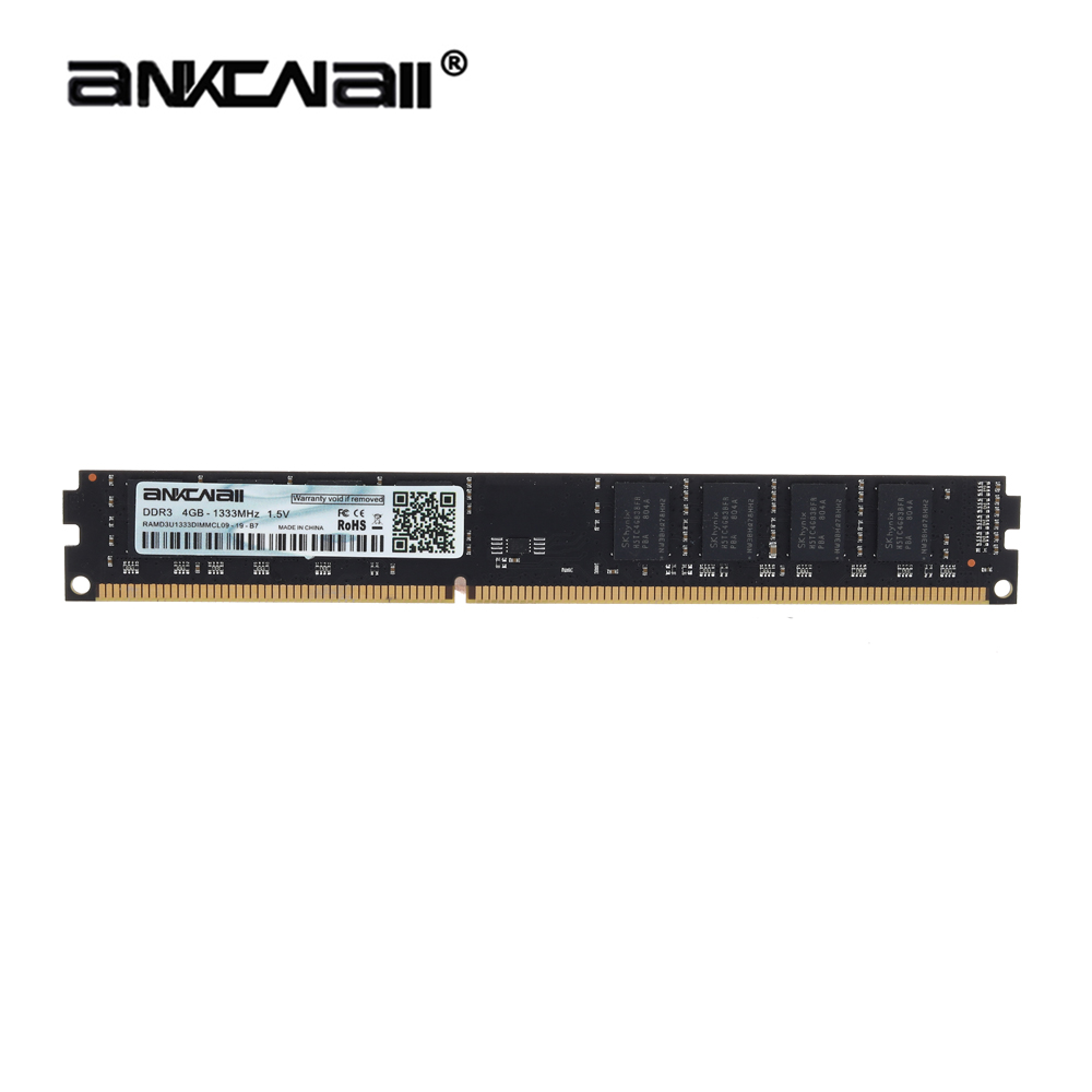 ANKOWALL DDR3 Desktop RAM with 2GB/4GB Capacity and 1866MHz/1600Mhz Memory Speed 4