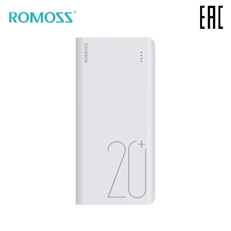 Внешний аккумулятор Romoss Sense 6+ 20000мАч переносной повербанк мобильный аккумулятор портативная батарея[ доставка из России]
