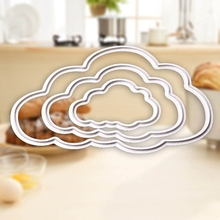 3pcs Clouds metal die cutting dies scrapbooking embossing folder suit for big shot machine