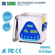 DK SONIC Ultra sonic Reiniger mit Heizung und Korb für Metall Teile, Vergaser, Kraftstoff Injektor, Messing, auto Teile, Motor Teile, etc