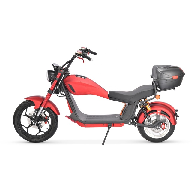 2021 Factory Supply EU Warehouse 2000W 20Ah Hydraulic Shock Absorber Adult Citycoco Electric Motorcycle Scooter 3