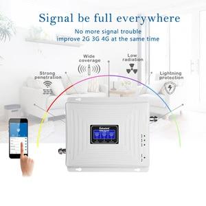 Image 3 - Lintratek 신호 리피터 GSM 2G 3G 4G 트라이 밴드 신호 부스터 900 1800 2100 Ampli GSM 900 리피터 4G 1800 부스터 3G 2100MHz