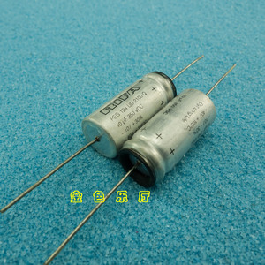 Image 2 - 4PCS NEW RIFA PEG124 350V10UF 13x28MM HiFi Audio axial electrolytic capacitor PEG 124 10uF/350V Filter amplifier 350V 10uF