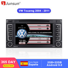 Junsun 2 din Car Radio Multimedia dvd playe For VW Volkswagen Touareg 2004 - 2011 Transporter Android 9.0 GPS 4+64GB Optional(China)