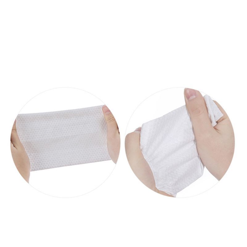 10Sheets Disposable Non-Woven Face Beauty Towel Portable Makeup Cleansing Wipes 11UF