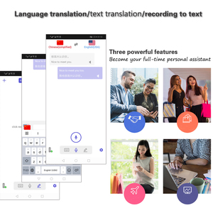 Image 5 - kebidumei Smart Instant Real Time Voice T8+ Multi Languages Translator Portable 40+ Language Translation Voice Translator