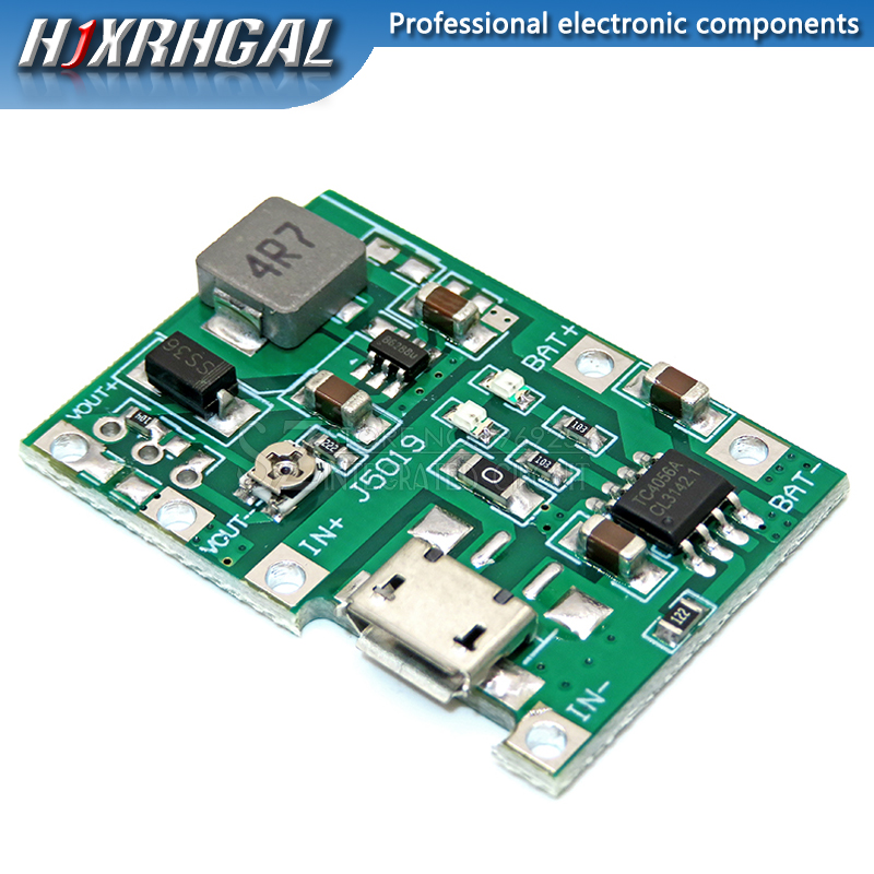 3,7 V 9V 5V 2A Einstellbare Step Up 18650 Lithium-Batterie Lade Entladung Integrierte Modul