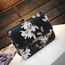 2020 new female bag 2 spring spray printing stereotypes trend small square fashion shoulder