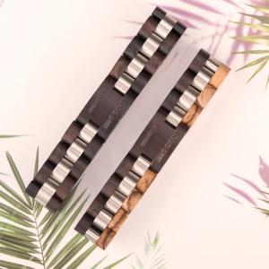 Image 4 - DODO DEER Watch uomo giappone quarzo Zebra orologi in legno maschio semplice reloj hombre calendario data Display Dropshipping OEM B09