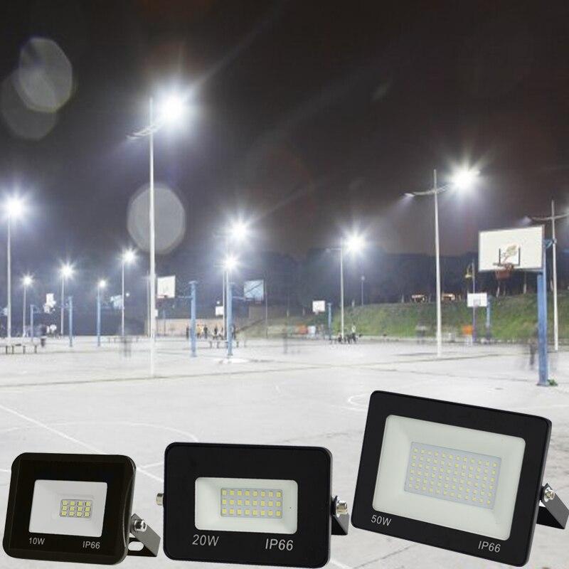 Floodlight Reflector LED Wall Waterproof Outdoor 30W 10W 220V 50W
