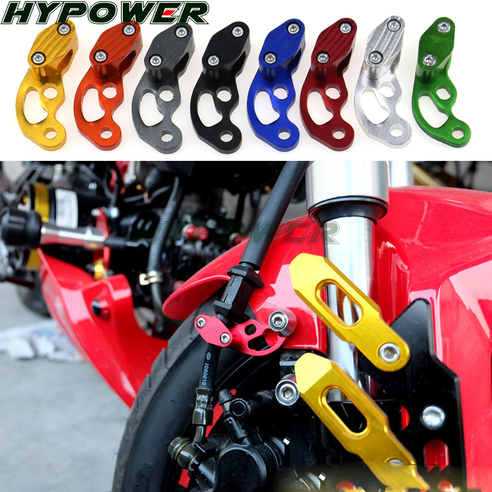 Зажимы для тормозной линии мотоцикла с ЧПУ для SUZUKI GSXR Msx125 Msx 125 Gsr 600/750 Gsxr 600/750/1000 Sv 650 Drz400 SV650, аксессуары