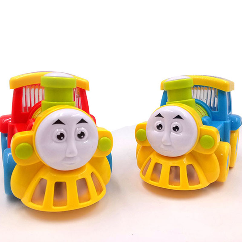 Electric Universal Train Shining Voice Steam Train Model New Year Hot Selling Stall Toy