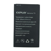 2pcs NEW Original 2300mAh Advance tv battery for EXPLAY Advance tv High Quality Battery+Tracking Number