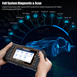 Image 2 - Foxwell NT624 Elite OBD2 Scanner Volledige System OBD2 Automotive Scanner Epb Olie Reset Diagnostic Tool Auto Accessoires Gratis Update