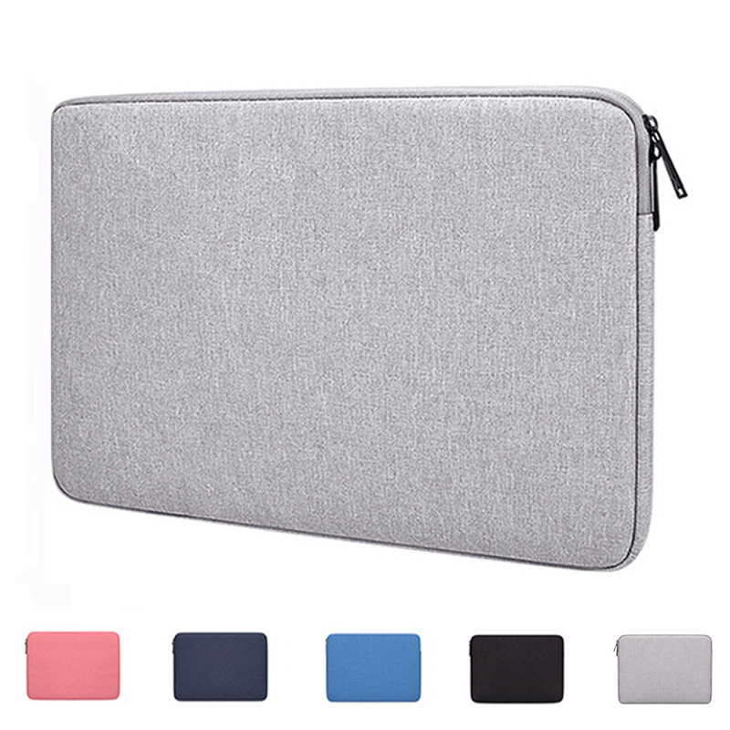 "Laptop Sleeve Bag Notebook Case Voor Laptop 13.3 "", 14.1"", 15.4 "", 15.6"" Inch, voor Macbook Pro Air 13 Cover Voor Xiaomi Hp Dell Acer"