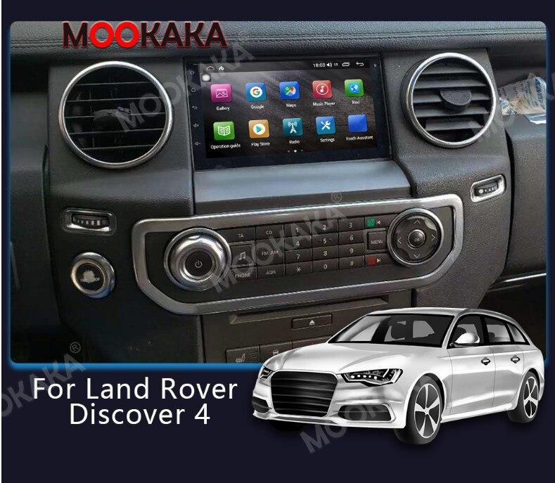 6G 128G autoradio Android pour Land Rover Discovery 4 LR4 L319 2009 - 2016 GPS Navigation lecteur multimédia CarPlay DSP carte gratuite