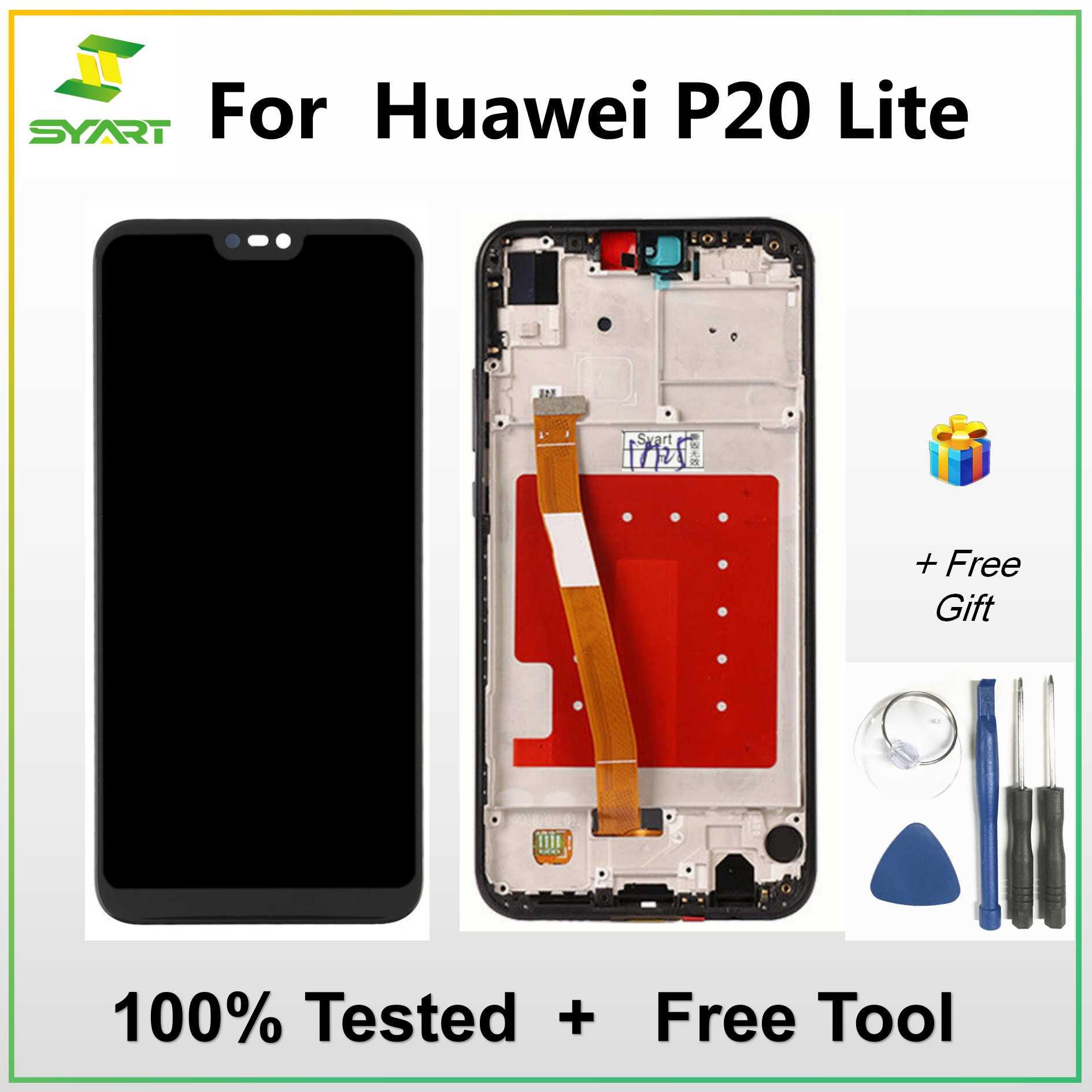 For Huawei P20 Lite / Nova 20E LCD Display Touch Screen Digitizer ...