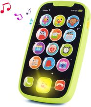 HISTOYE Educational toys Cellphone with LED Baby Kid Educational phone English Learning Mobile Phone Toy Chrismtas Gifts