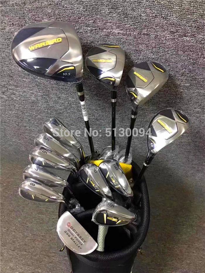 Men's Golf Club New WARBIRD Golf Clubs Golf  Club Sets Driver+fairway Wood+irons+putter Graphite Golf Shaft Have Bag Packs