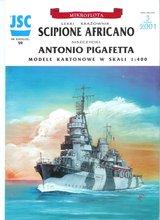 Cruzadores de luz sippian italianos e destroyers antonio