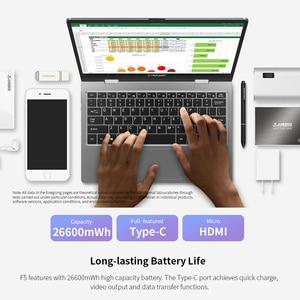 Image 4 - Teclast F5 dizüstü dizüstü bilgisayar 8GB RAM 256GB SSD dokunmatik ekran PC Intel İkizler göl N4100 1920*1080 hızlı şarj 360 dönen