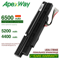 ApexWay 4400mah  Laptop Battery For Acer Aspire TimelineX 3INR18/65 2 AS11A3E AS11A5E 4830TG 5830T 3830TG 4830T 5830TG 3830T|Laptop Batteries|Computer & Office -