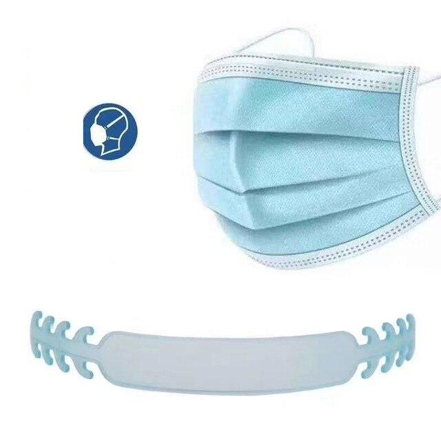 Face Mask Ear Hooks Extension Buckle  Kids Adults Adjustable Earache Fixer Anti-Slip Mask Ear Grip Extension Hook Mask Holder 5