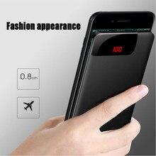 10000mah Power Bank External Battery PoverBank 2 USB Powerbank Portable Mobile Phone Charger for Xiaomi MI Iphone X