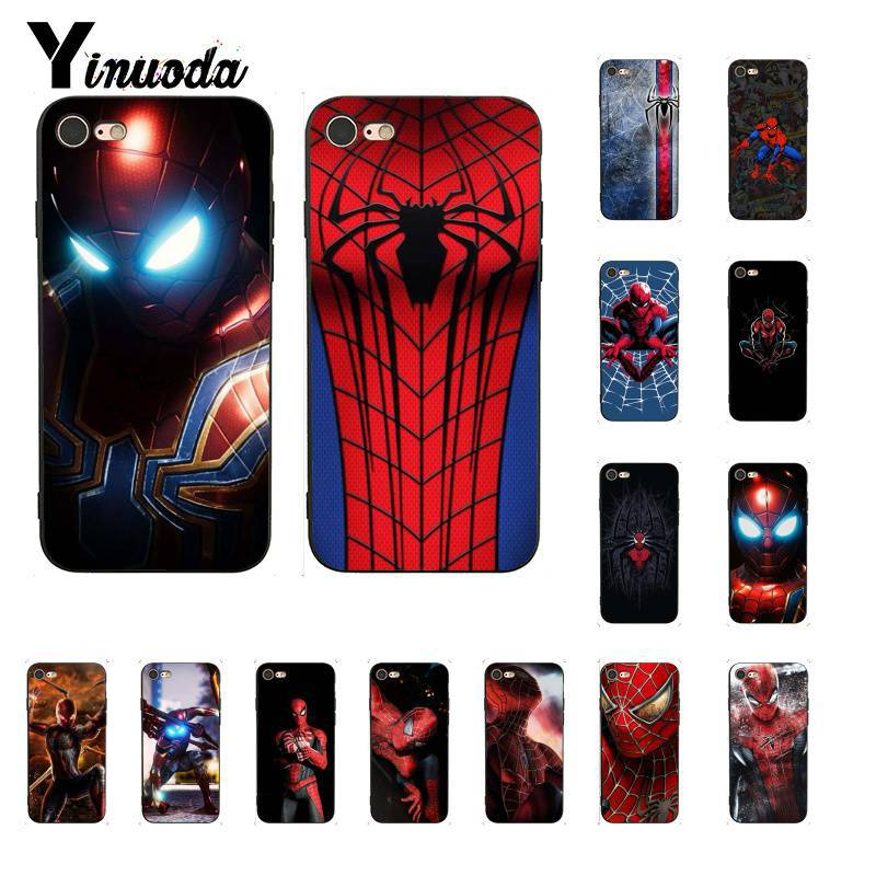 Yinuoda Spider Man Cool Fashion Diy Painted Cute Phone Case For