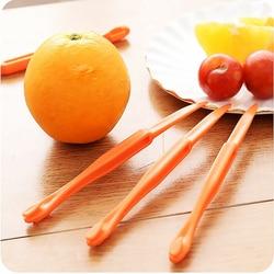6 pçs laranja peelers dispositivo laranja descascar faca suco ajudante citrus abridor frutas vegetais ferramentas ferramenta de cozinha