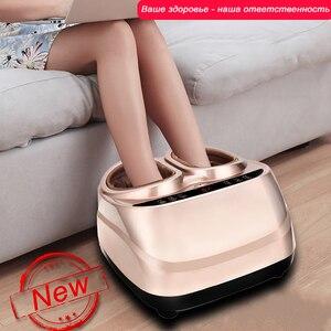 Image 5 - Offre spéciale style russe électrique masseur de pieds 220V shiatsu masseur de pieds pression dair masseur de pieds soins infrarouges