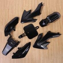 Черный пластиковый набор обтекателей для Honda CRF XR 50 CRF 125cc SSR PRO Pit Dirt Bike высокого качества для автомобиля