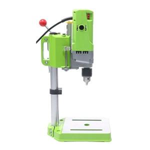 Image 2 - AMYAMY מיני מכונת קידוח מקדחת עיתונות ספסל קטן חשמלי תרגיל מכונת עבודת ספסל ציוד כונן 220V 710W האיחוד האירופי תקע 5156E