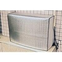Cubierta exterior de aire acondicionado de lavado cubierta de aire acondicionado a prueba de lluvia a prueba de polvo de Metal de aluminio película de Host cubierta