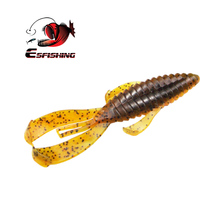 ESFISHING Hot Sale Jigging Lures Silicone Bait Rage Bug Craw 100mm 8.2g Wobblers For Trolling carp Fishing Bait