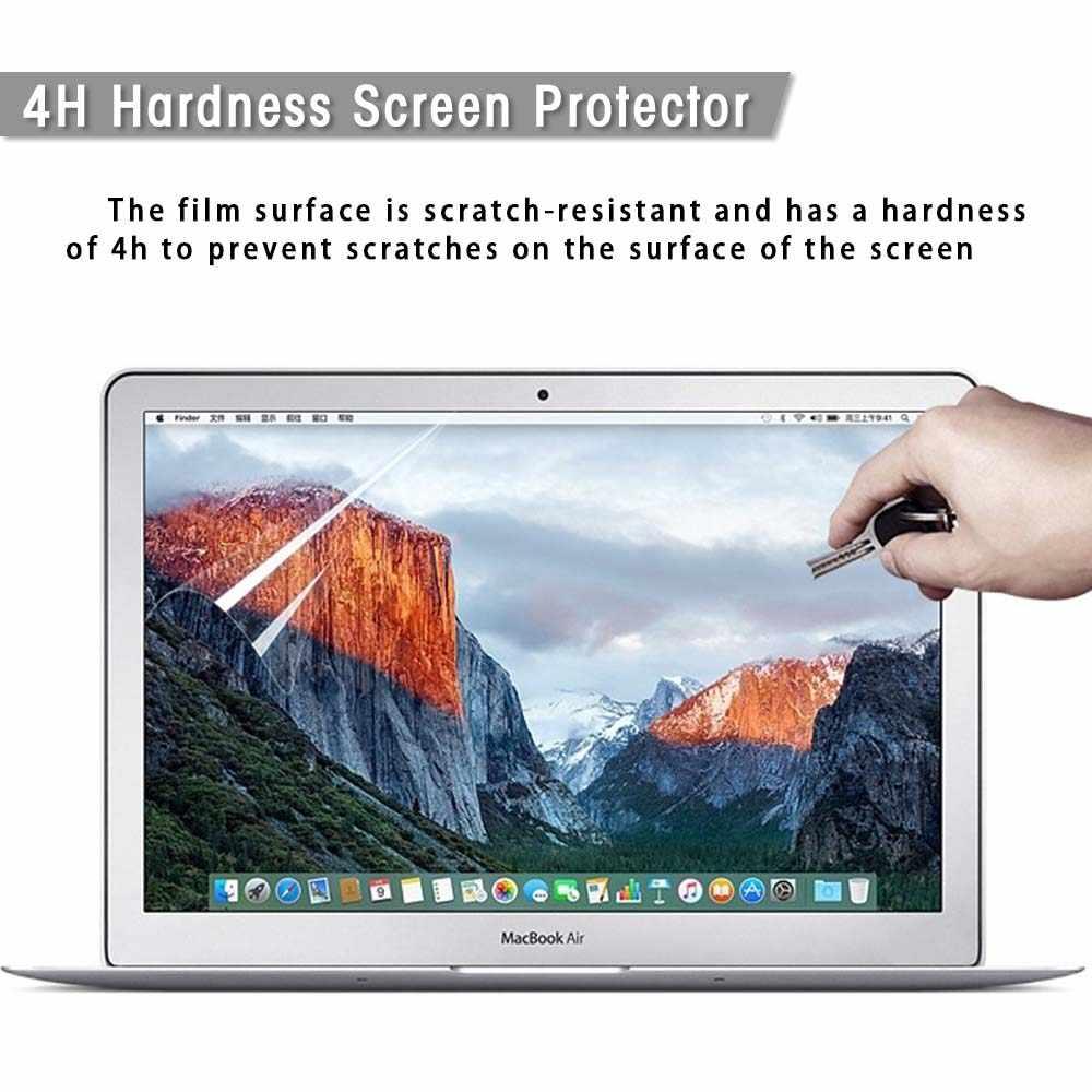 KK & LL Cho Apple MacBook Air Pro Retina 11 12 13 15/Pro 13 15 Thanh Cảm Ứng Cứng vỏ Laptop + Tặng Skin Bàn Phím + Tấm Bảo Vệ Màn Hình