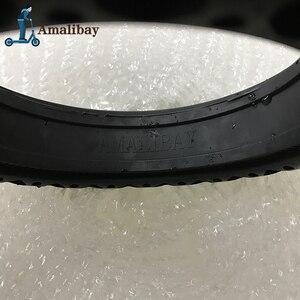 Image 5 - Elektrische Roller Schnee Reifen Eis Reifen für Xiaomi M365 / M365 Pro Roller Nicht Pneumatische Solide Reifen Stoßdämpfer nicht slip Reifen