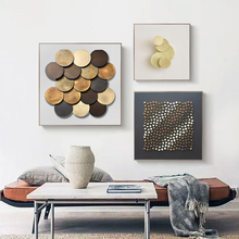 Abstract Golden Metal Decoration Canvas Painting Poster and Print Living Room Bedroom White Modern Pictures Wall Art Home Decor nordic canvas painting abstract living room golden art wall pictures print bedroom dinning room home decor unframed poster art